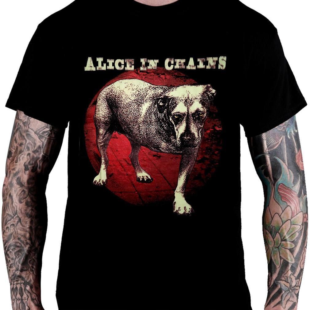 Camiseta Alice In Chains - 1995 (preta)