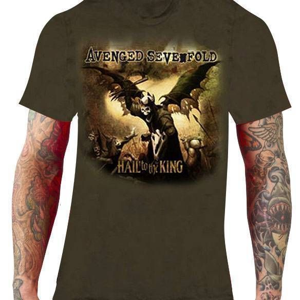 Camiseta Avenged Sevenfold – Hail to the King