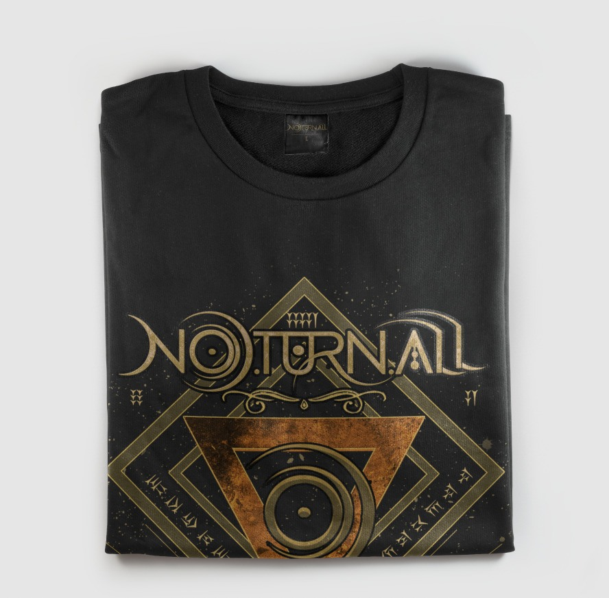 Camiseta Logotipo Banda Noturnall