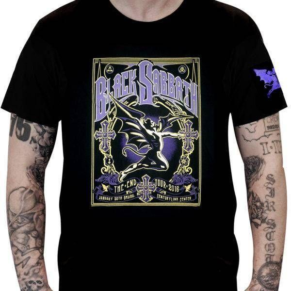CamisetaBlack Sabbath – The End Tour 2016