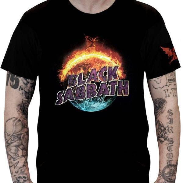 Camiseta Black Sabbath – The End Tour