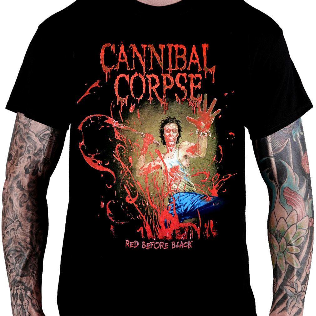 CamisetaCannibal Corpse Red Before Black - Consulado do Rock