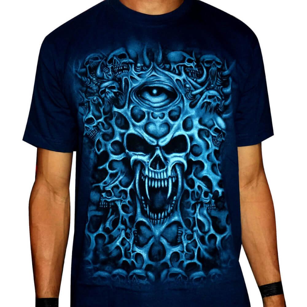 Camiseta CAVEIRA / SKULL