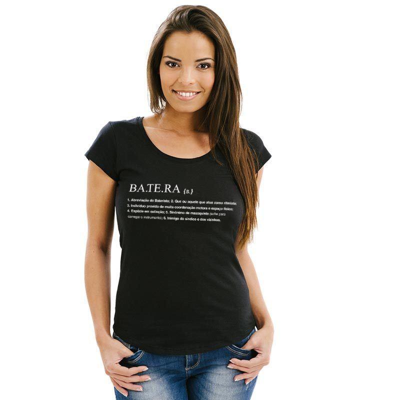 Camiseta feminina Dicionário Batera