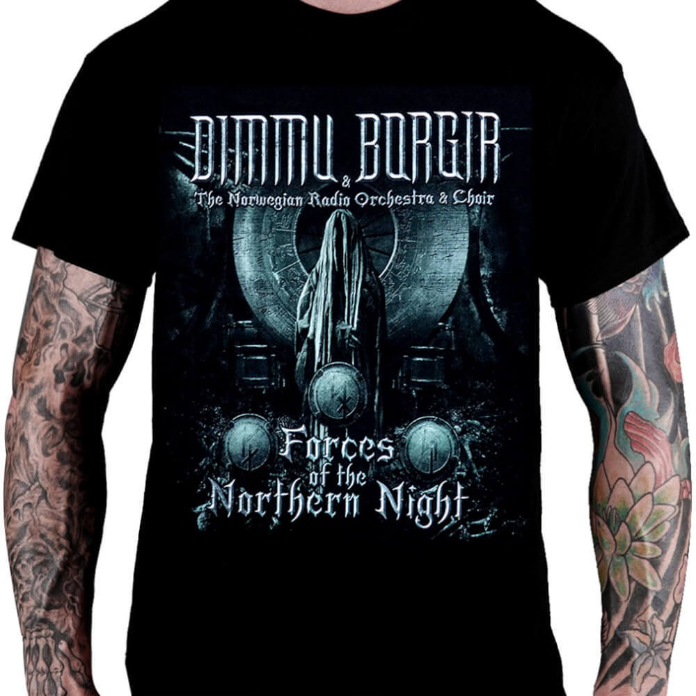 Camiseta Dimmu Borgir - Forces Of The Northern Night
