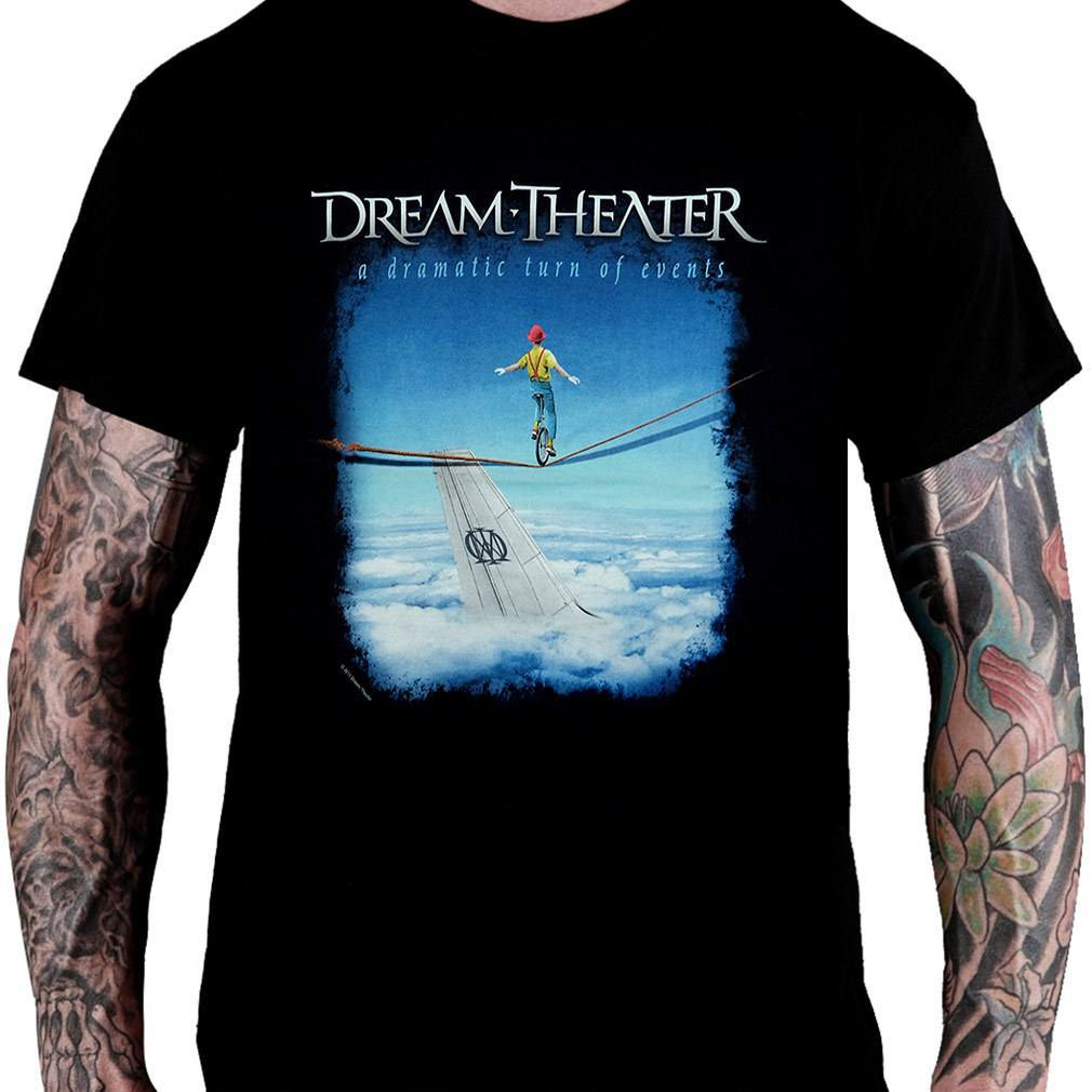 CamisetaDream Theater A Dramatic Turn of Events - Consulado do Rock