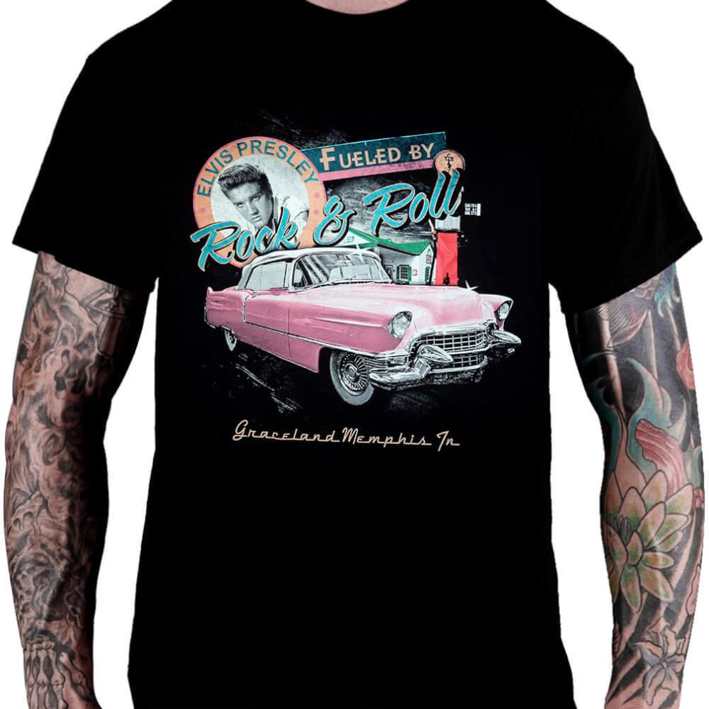 CamisetaELVIS PRESLEY – Graceland Memphis TN