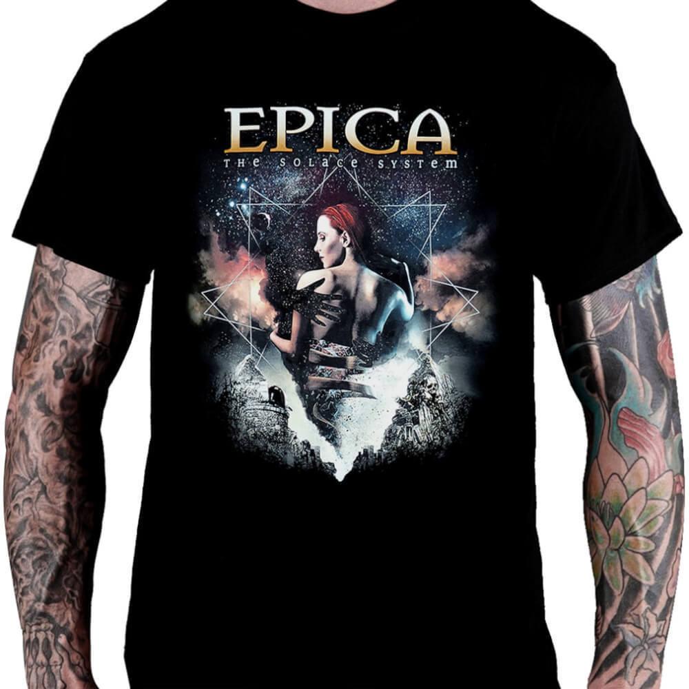 Camiseta EPICA The Solace System - Consulado do Rock