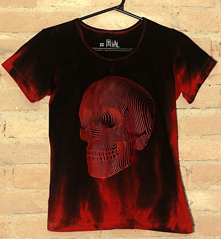 Camiseta Feminina Red Ghost - Hail Custom Wear