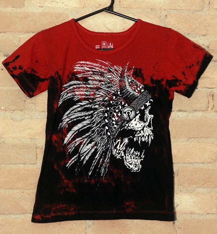 Camiseta Feminina Red Indian - Hail Custom Wear