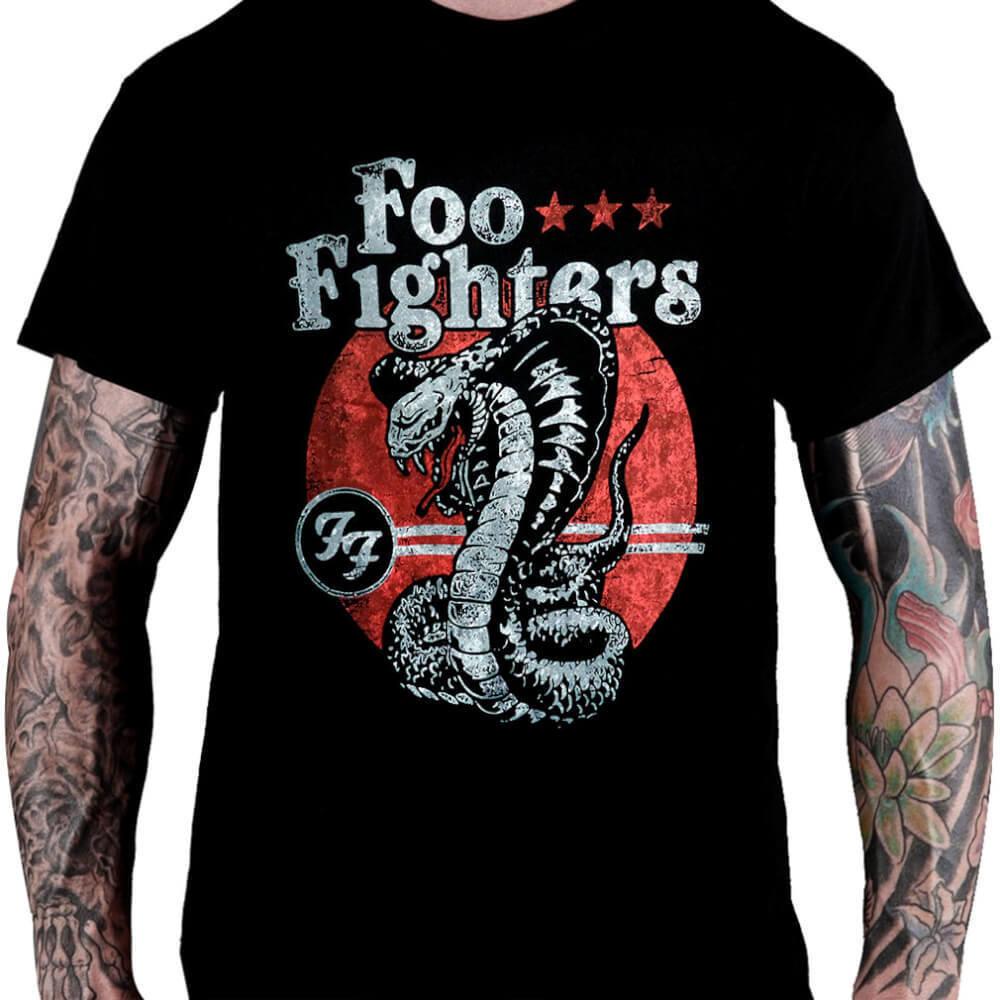 CamisetaFOO FIGHTERS - Snake