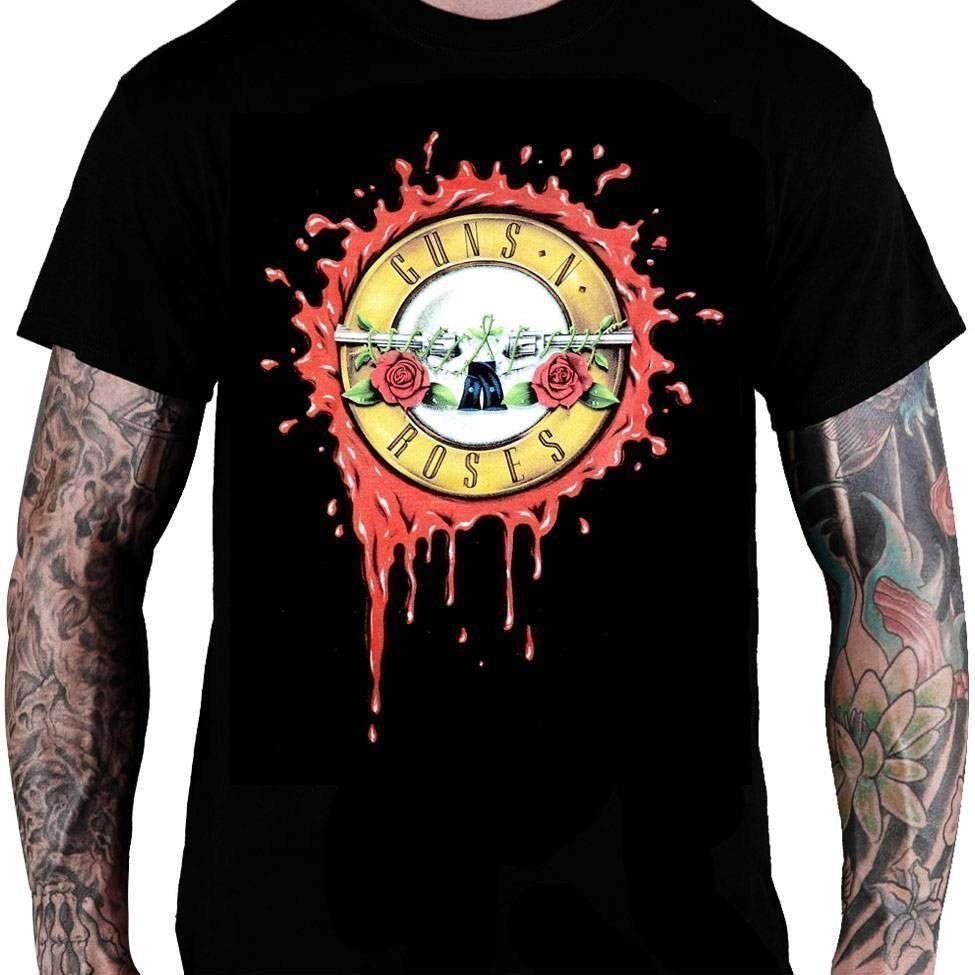 Camiseta Guns N' Roses - Consulado do Rock