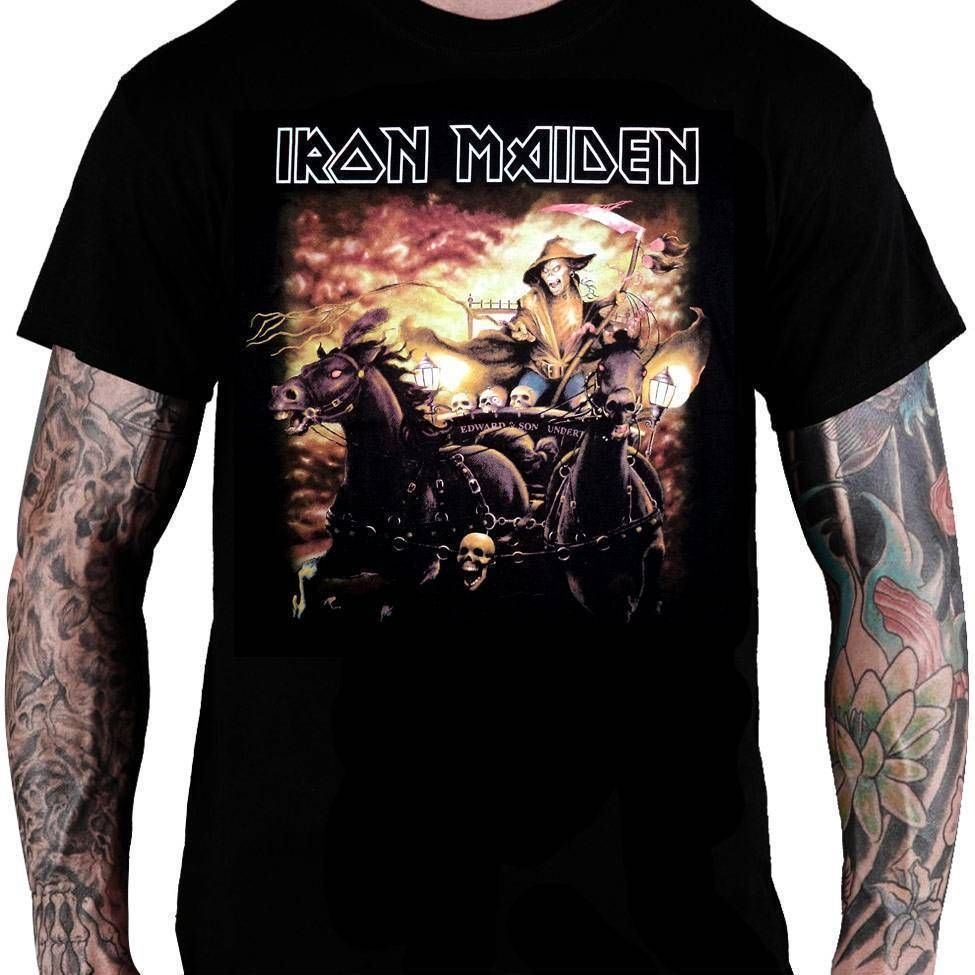 Camiseta Iron Maiden Death of The Road - Consulado do Rock