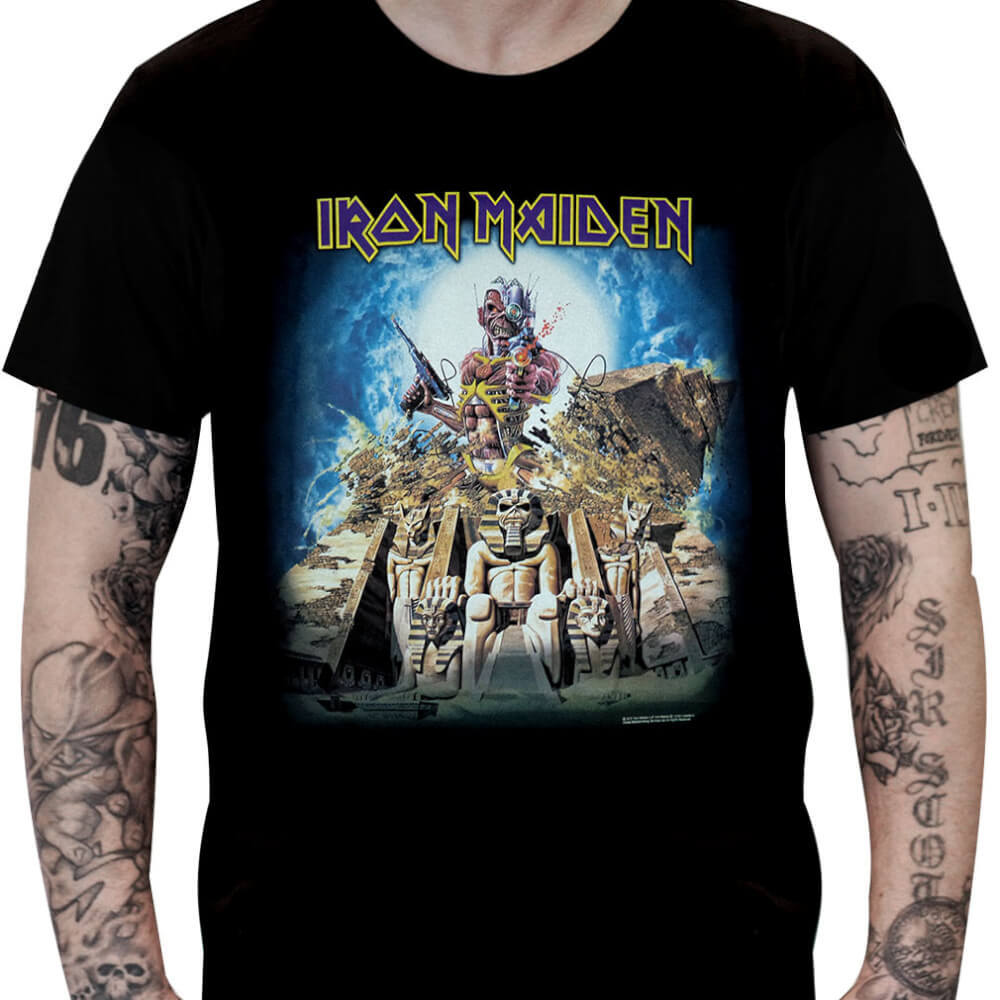 Camiseta IRON MAIDEN – Somewhere Back in Time