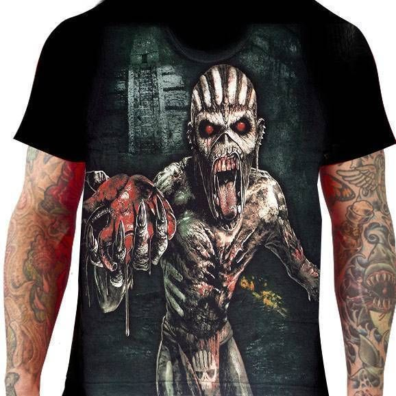 CamisetaIron Maiden The Book of Souls - Stamp