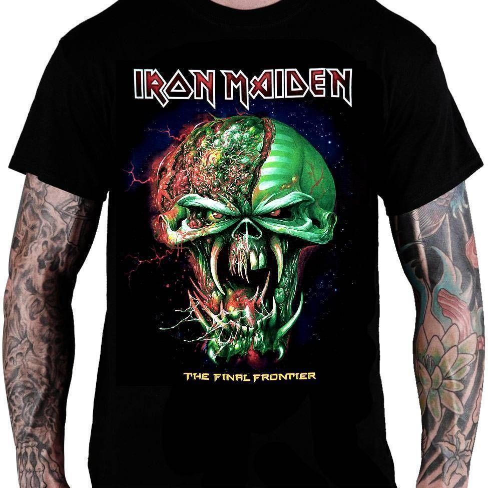 CamisetaIron Maiden The Final Frontier - Consulado do Rock