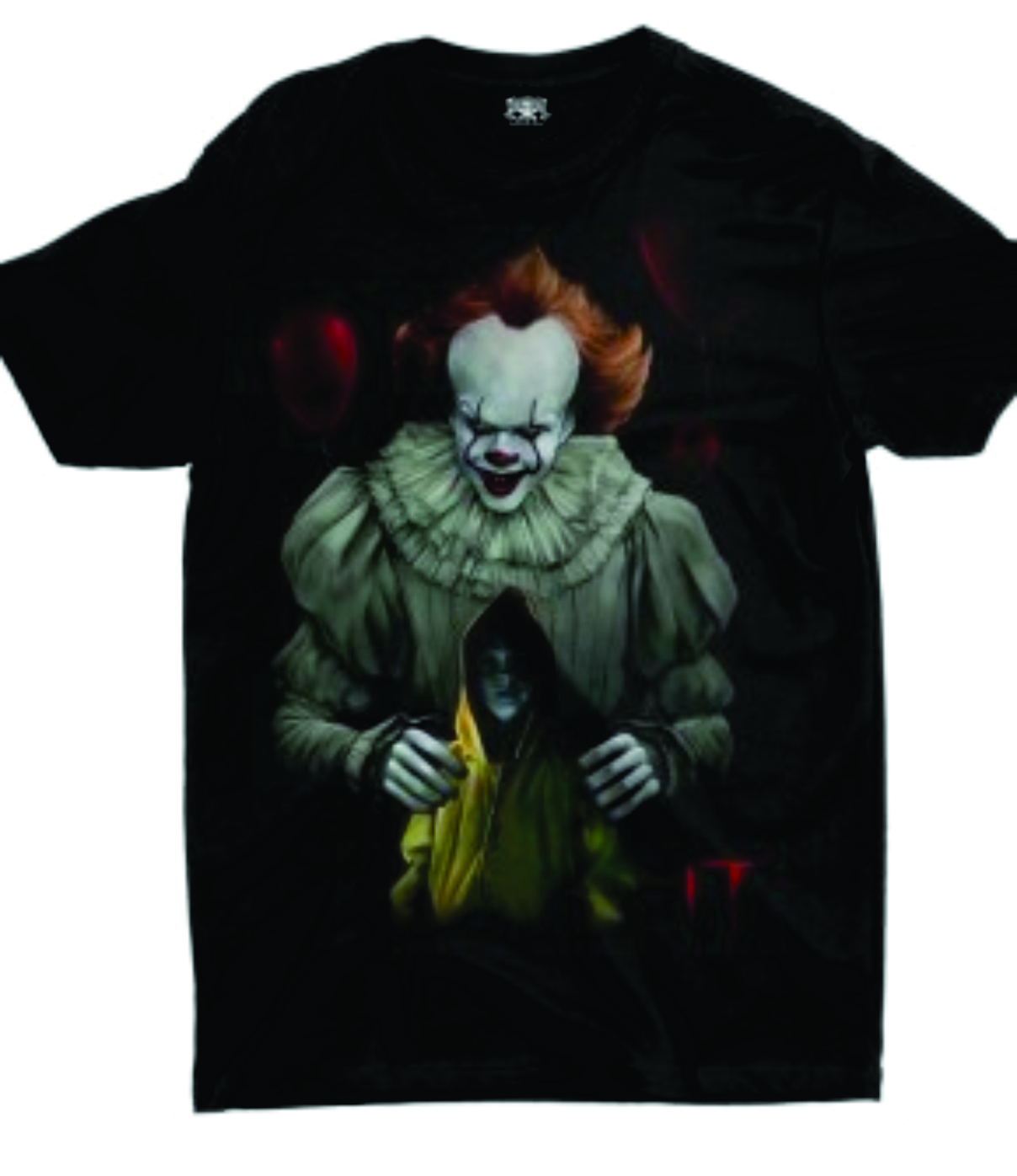 Camiseta IT Preta Rock Road