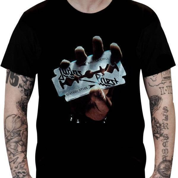CamisetaJudas Priest – British Steel