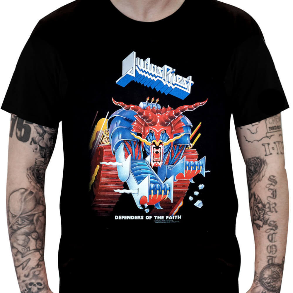 Camiseta JUDAS PRIEST – Defenders of the Faith