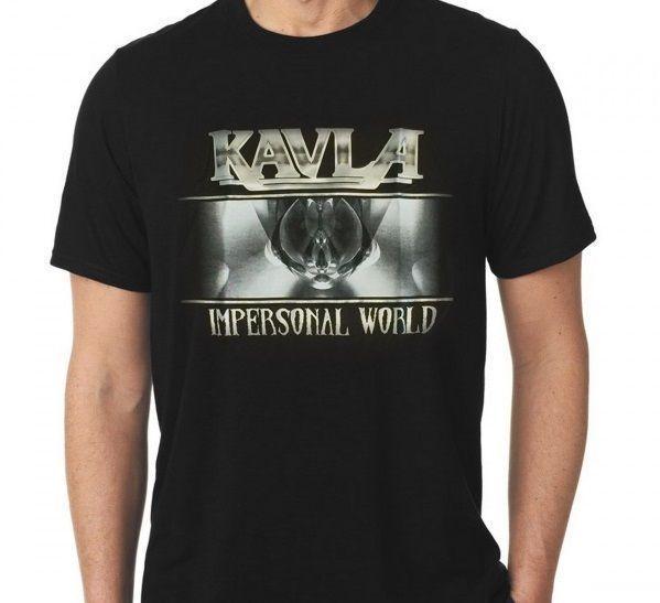 Camiseta Masculina Manga Curta Kavla - Banda Kavla