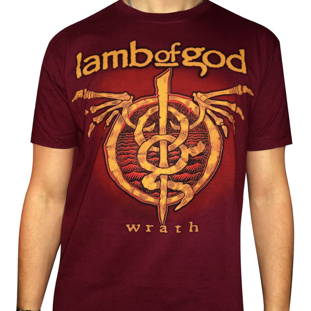 Camiseta Lamb Of God – Wrath