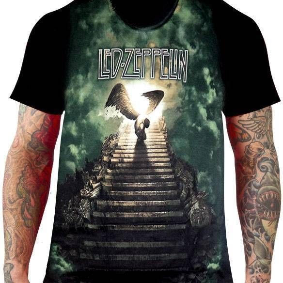 Camiseta Led Zeppelin – Stairway to Heaven