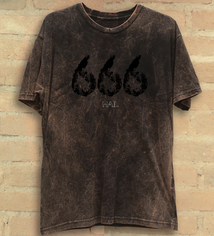 Camiseta Masculina 666 - Hail Custom Wear