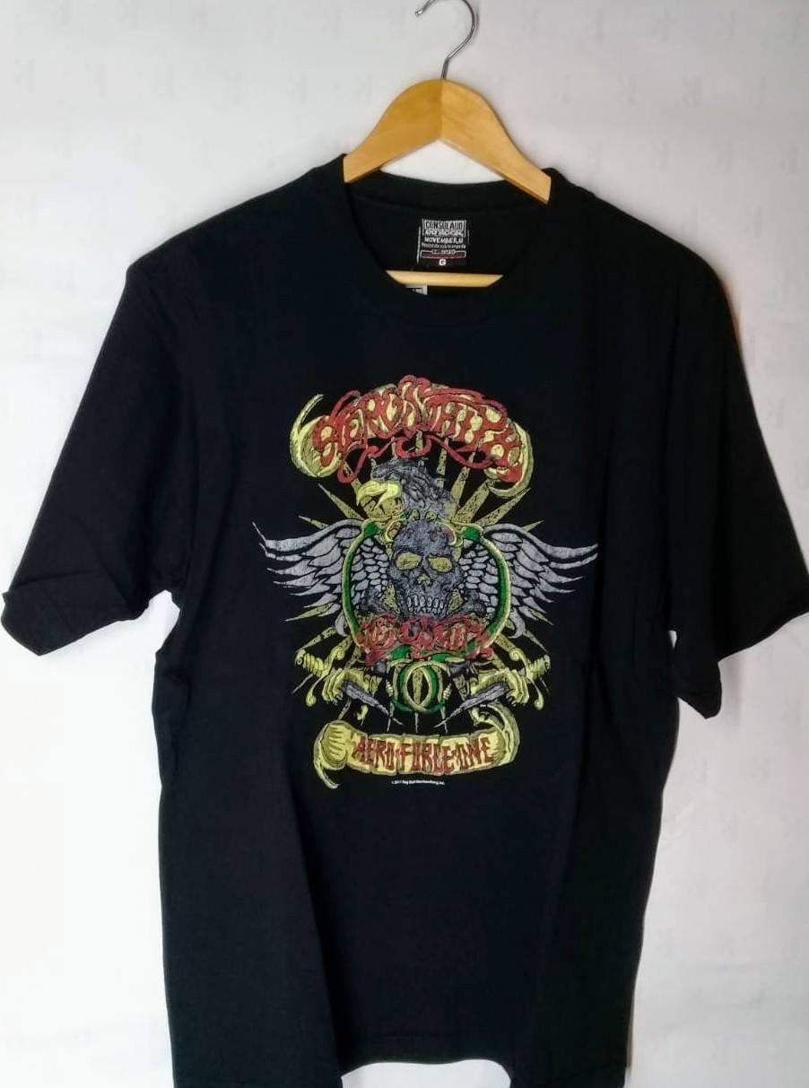 Camiseta Masculina  Aerosmith Aero Force One