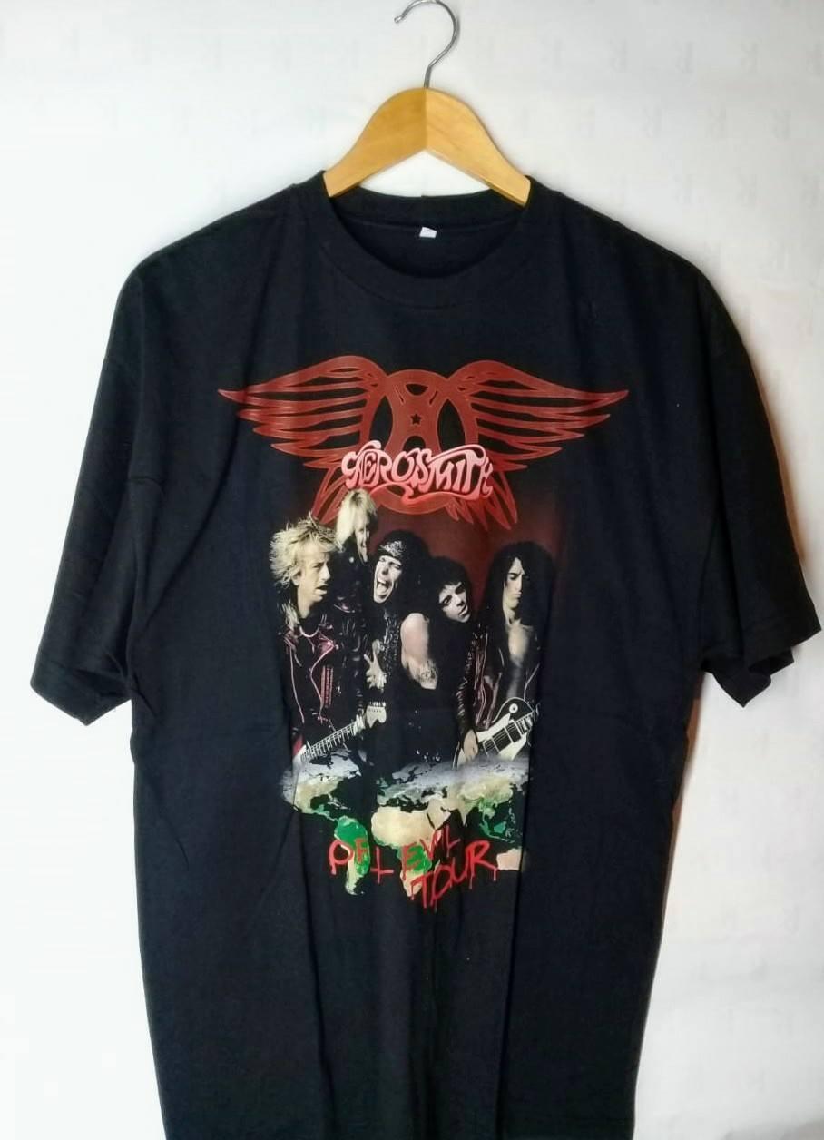 Camiseta Masculina  Aerosmith