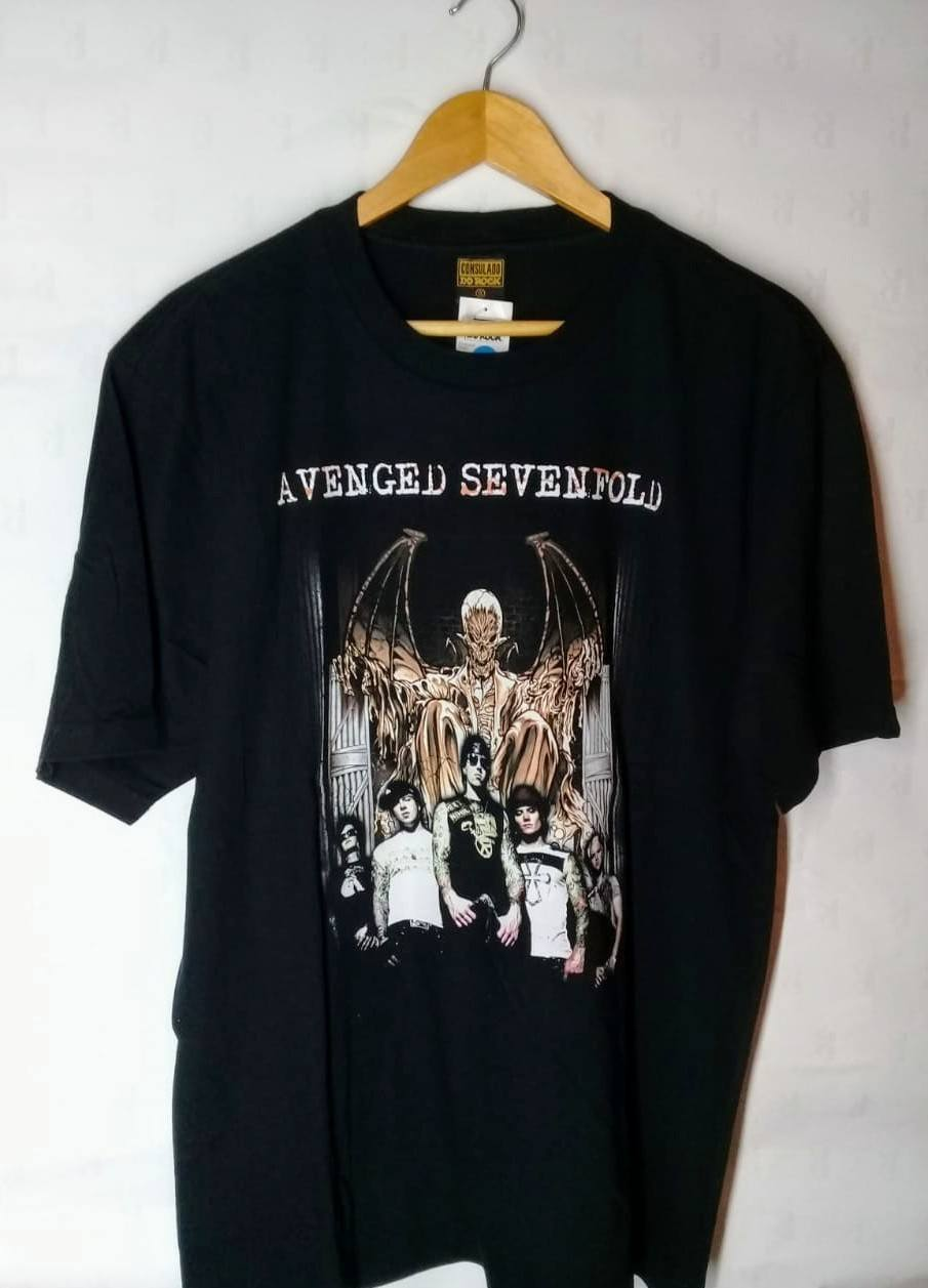 Camiseta Masculina Avenged Sevenfold