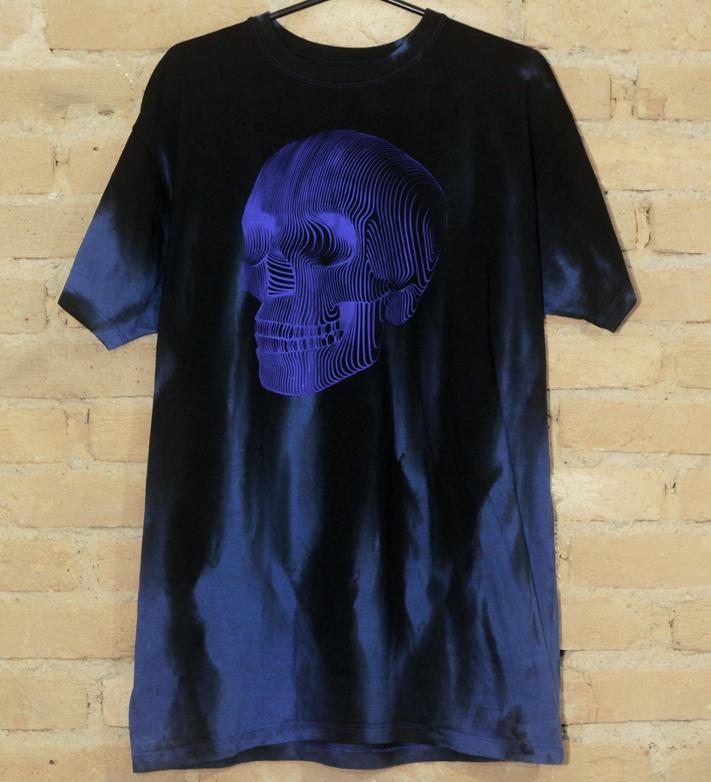 Camiseta Masculina Blue Ghost - Hail Custom Wear