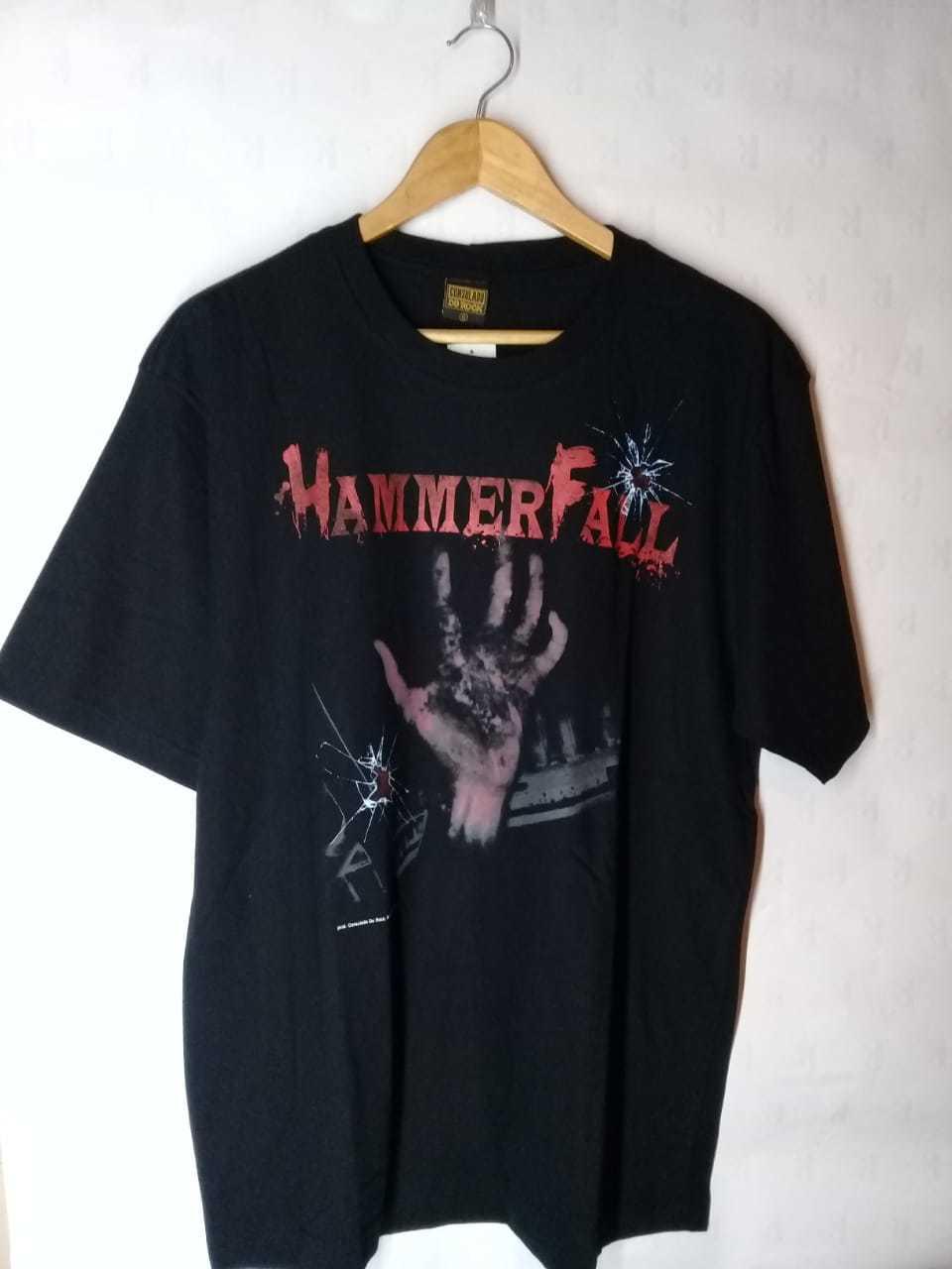 Camiseta Masculina HammerFall