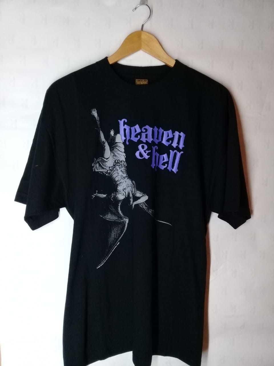 Camiseta Masculina Heaven and Hell