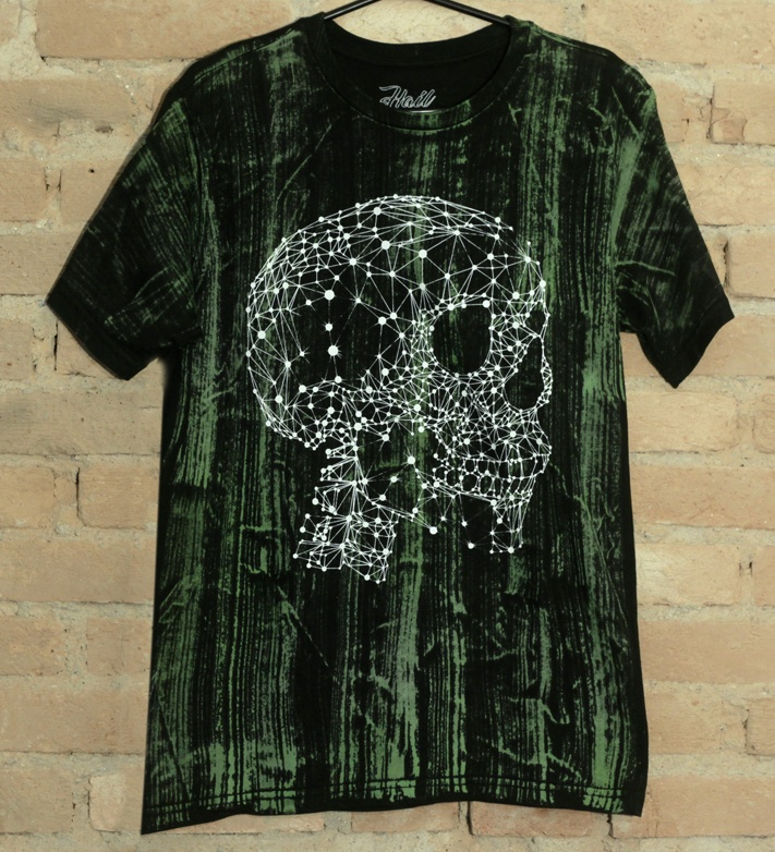 Camiseta Masculina Green Constelation - Hail Custom Wear