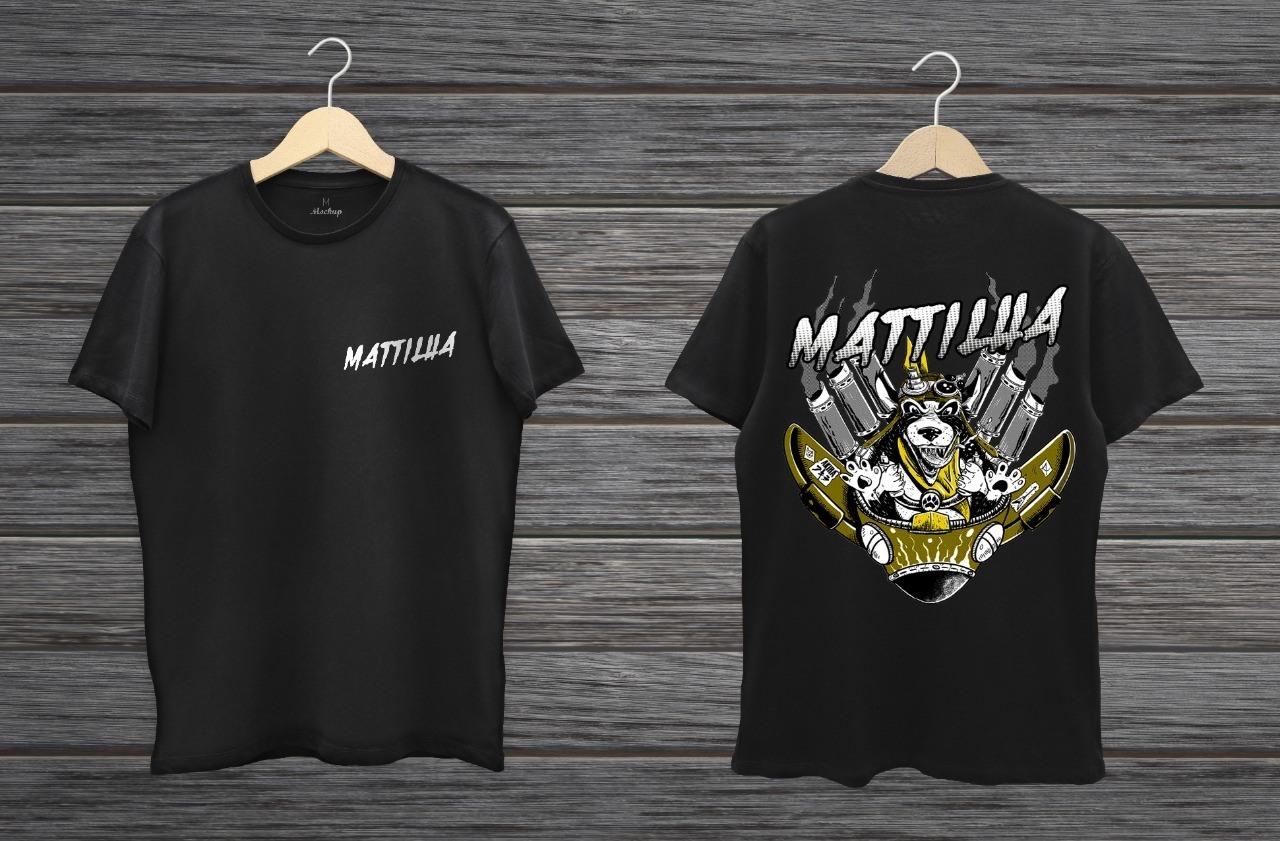 Camiseta Mattilha Dog Steampunk I