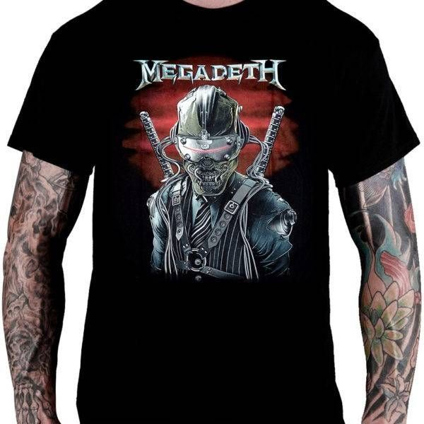 Camiseta Megadeth Dystopia - Consulado do Rock