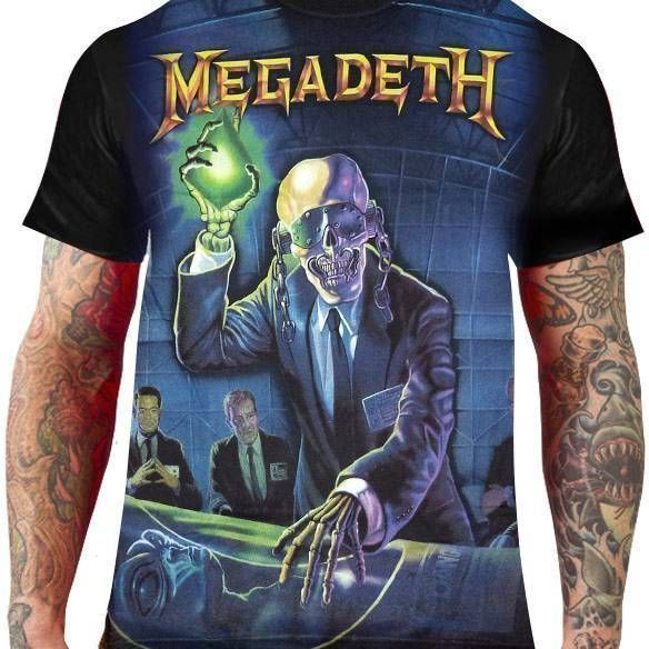 Camiseta Megadeth Rust in Peace - Stamp