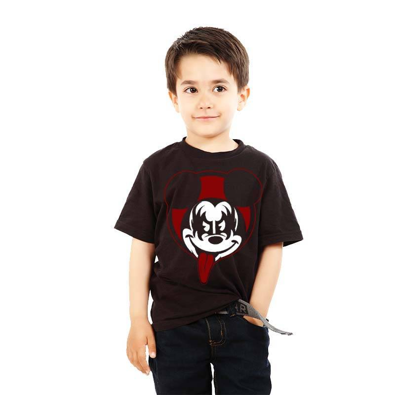 Camiseta Mickey Kiss – Camisetas Roquenrou