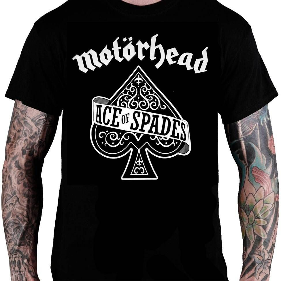 Camiseta Motörhead – Ace of Spades