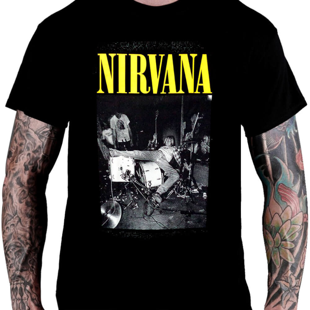 Camiseta NIRVANA – Kurt Cobain