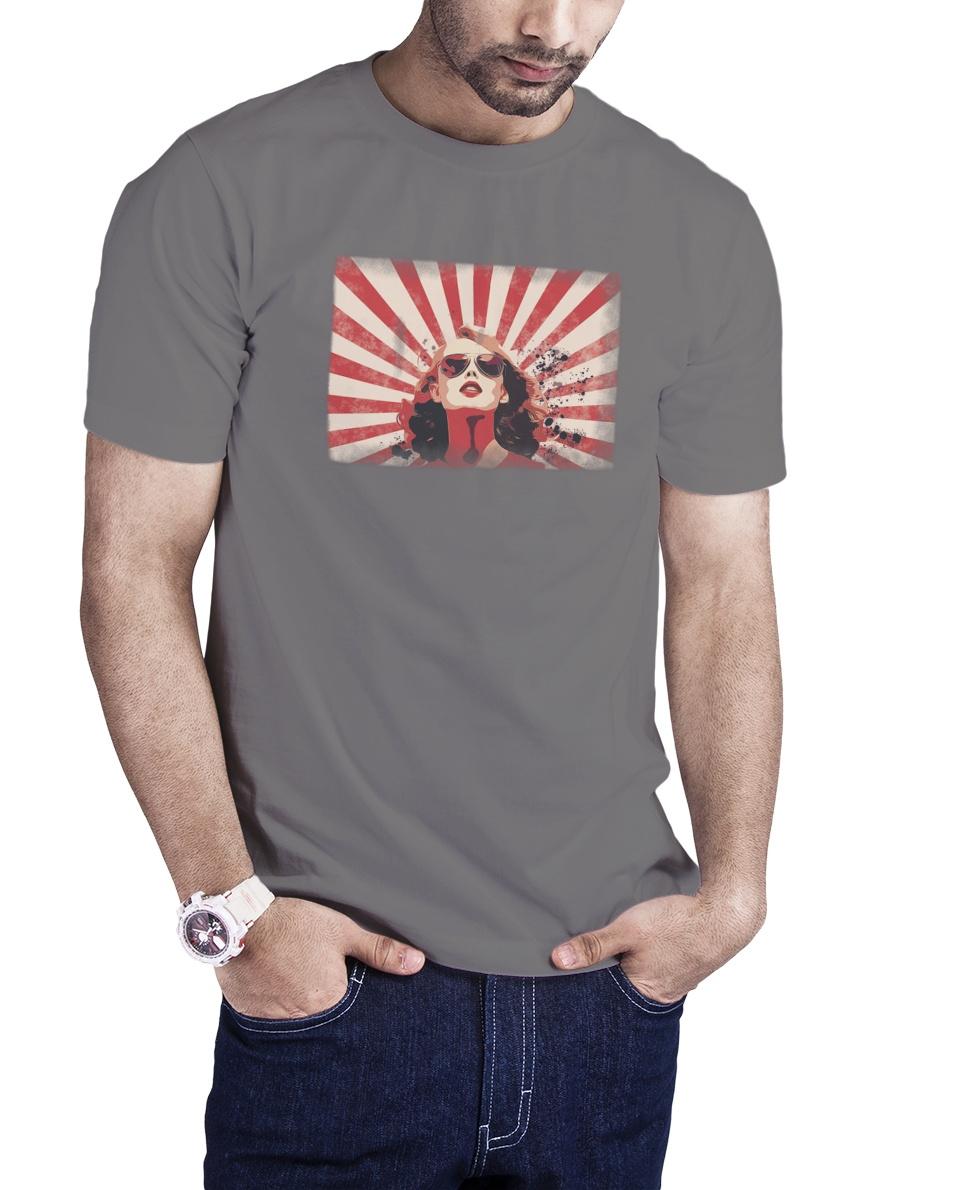 Camiseta Óculos Retro