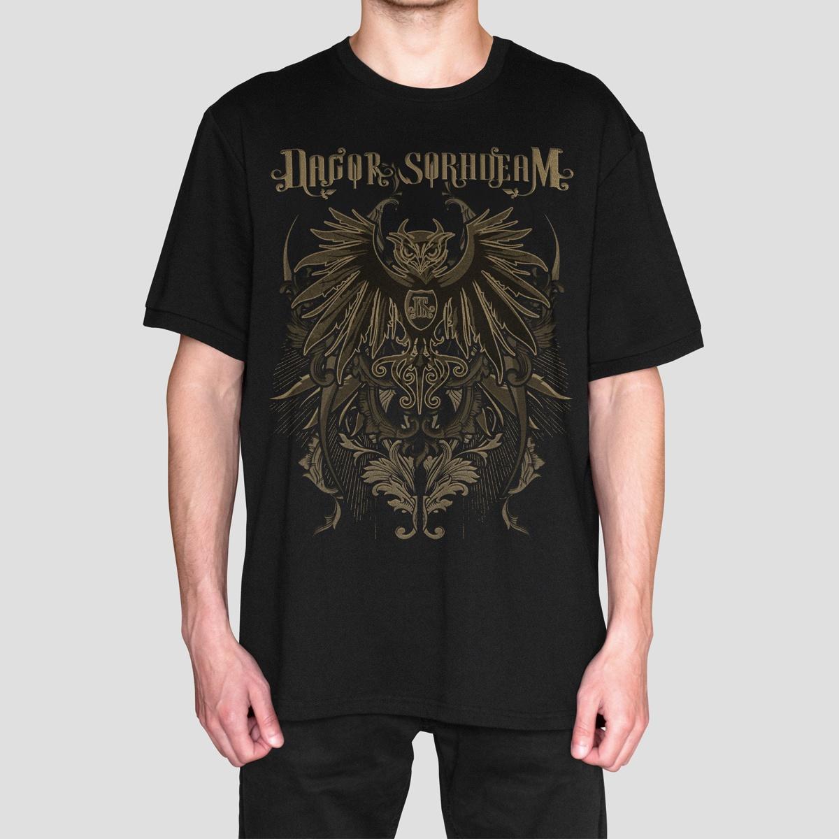 Camiseta Masculina Oficial - Banda Dagor