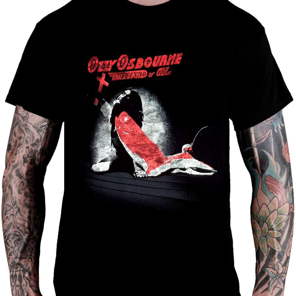 Camiseta Ozzy Osbourne Blizzard of Ozz - Consulado do Rock