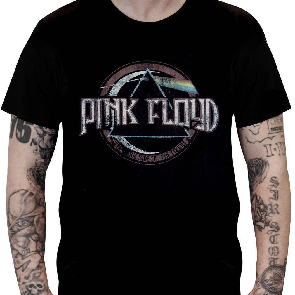 Camiseta Pink Floyd Dark Side Vintage - Stamp