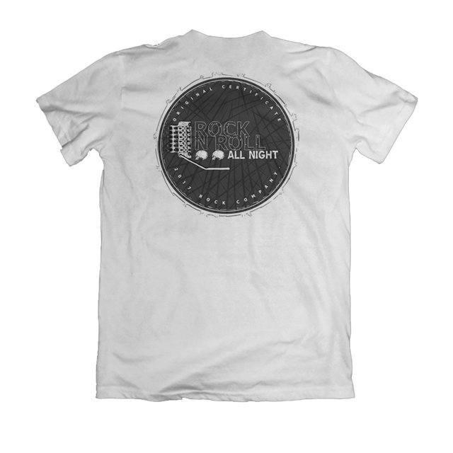 Camiseta Rock N Roll All Night - eFull Camisetas