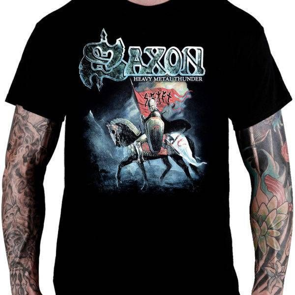 Camiseta Saxon – Heavy Metal Thunder