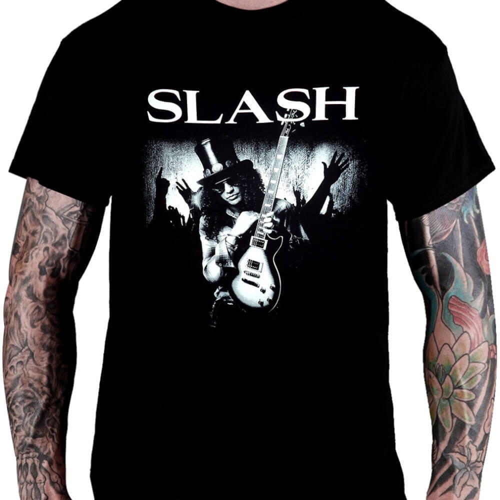 Camiseta Slash - Consulado do Rock