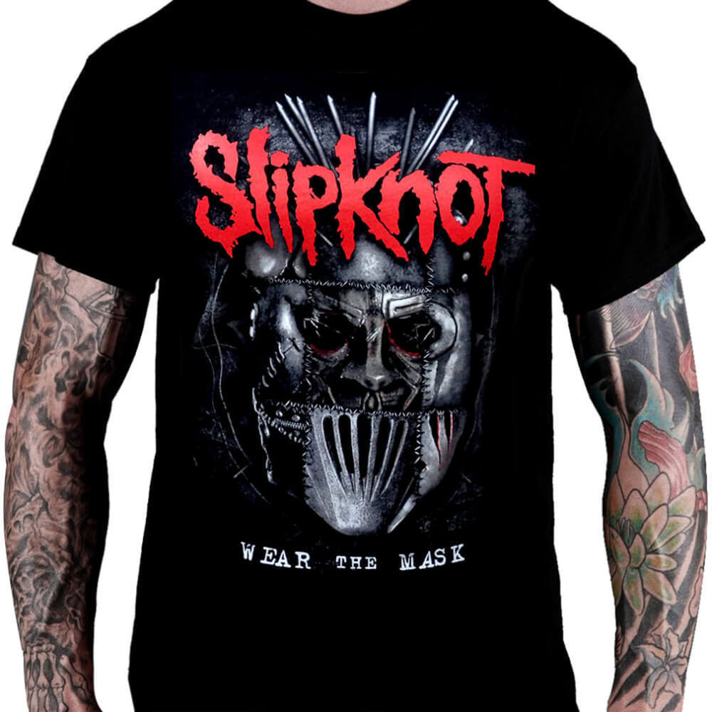 Camiseta SLIPKNOT - Wear The Mask