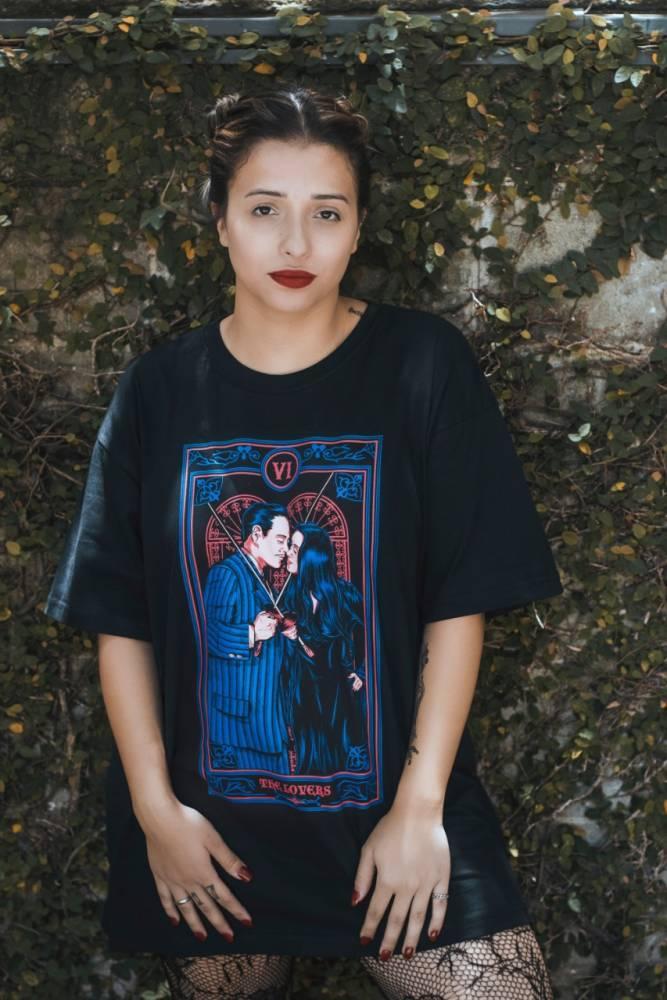 Camiseta Tarot The Lovers