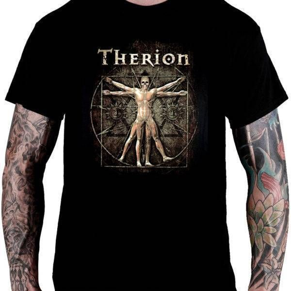 Camiseta Therion – Tour (The Vitruvian Man)